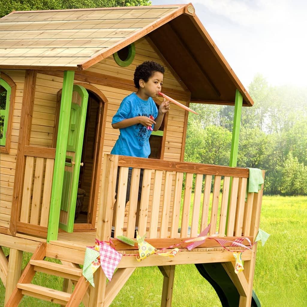 axi kinderhaus kinderspielhaus kinder gartenhaus spielhaus h uschen holzhaus ebay. Black Bedroom Furniture Sets. Home Design Ideas