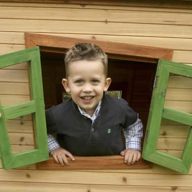 acheter maison de jeu iris en bois pour enfants axi pas cher. Black Bedroom Furniture Sets. Home Design Ideas