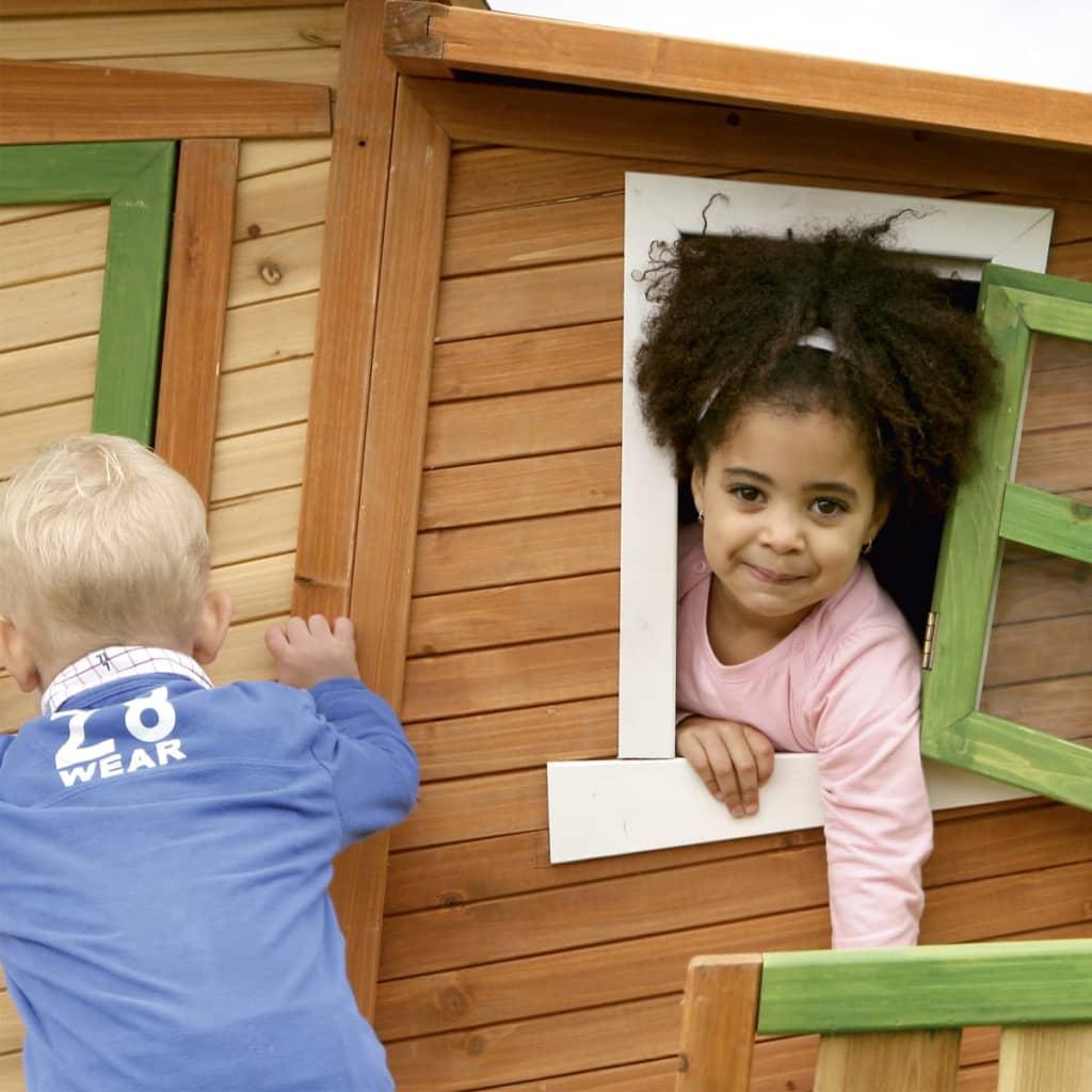 acheter maison de jeu lisa en bois pour enfants axi pas cher. Black Bedroom Furniture Sets. Home Design Ideas