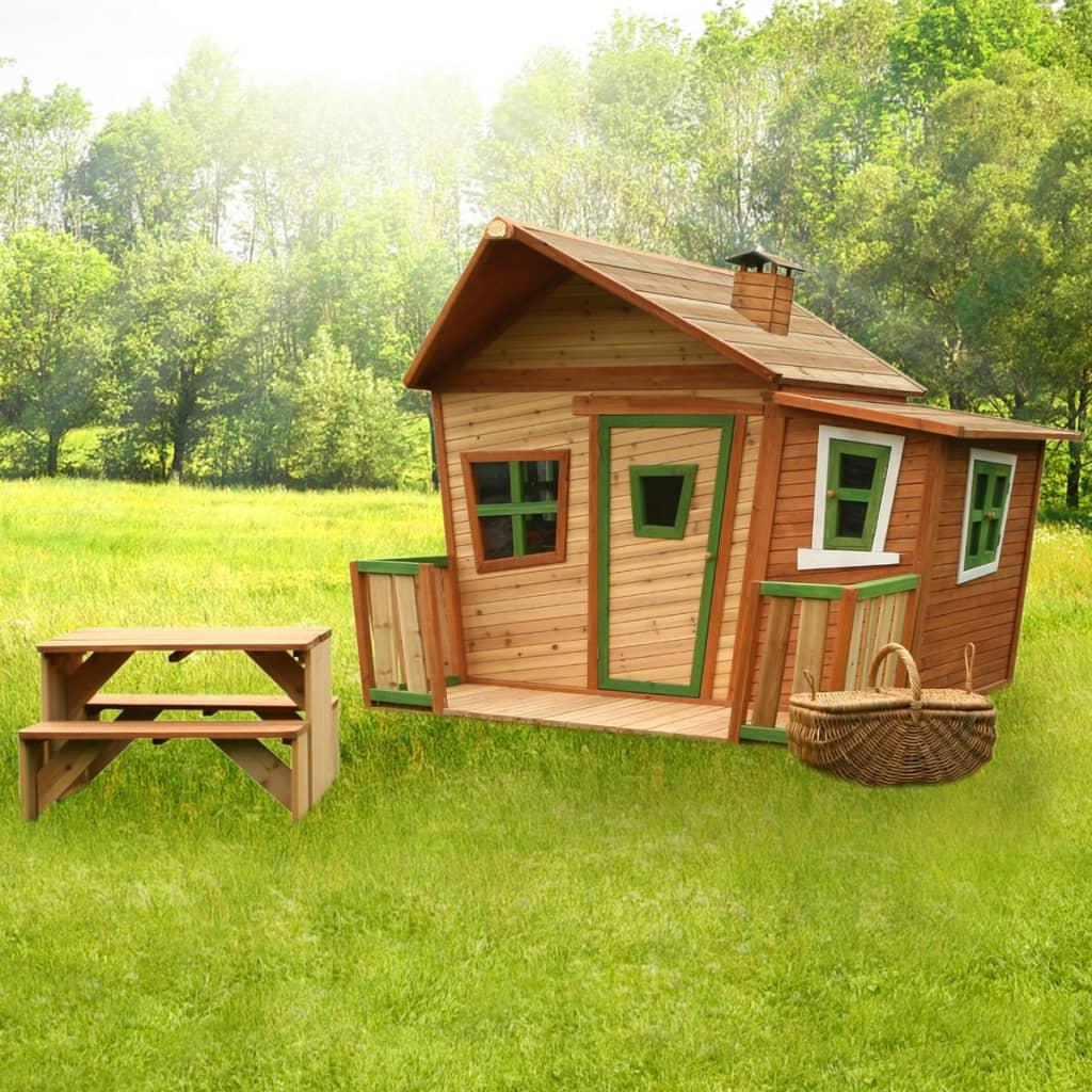 axi kinderhaus kinderspielhaus kinder h uschen gartenhaus. Black Bedroom Furniture Sets. Home Design Ideas