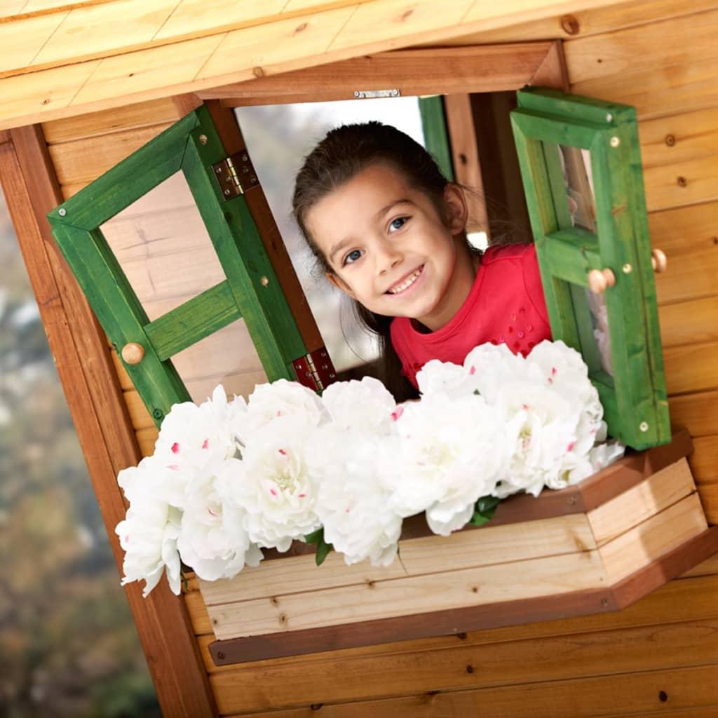 acheter maison de jeu axi winnie l 39 ourson en bois pour enfants pas cher. Black Bedroom Furniture Sets. Home Design Ideas