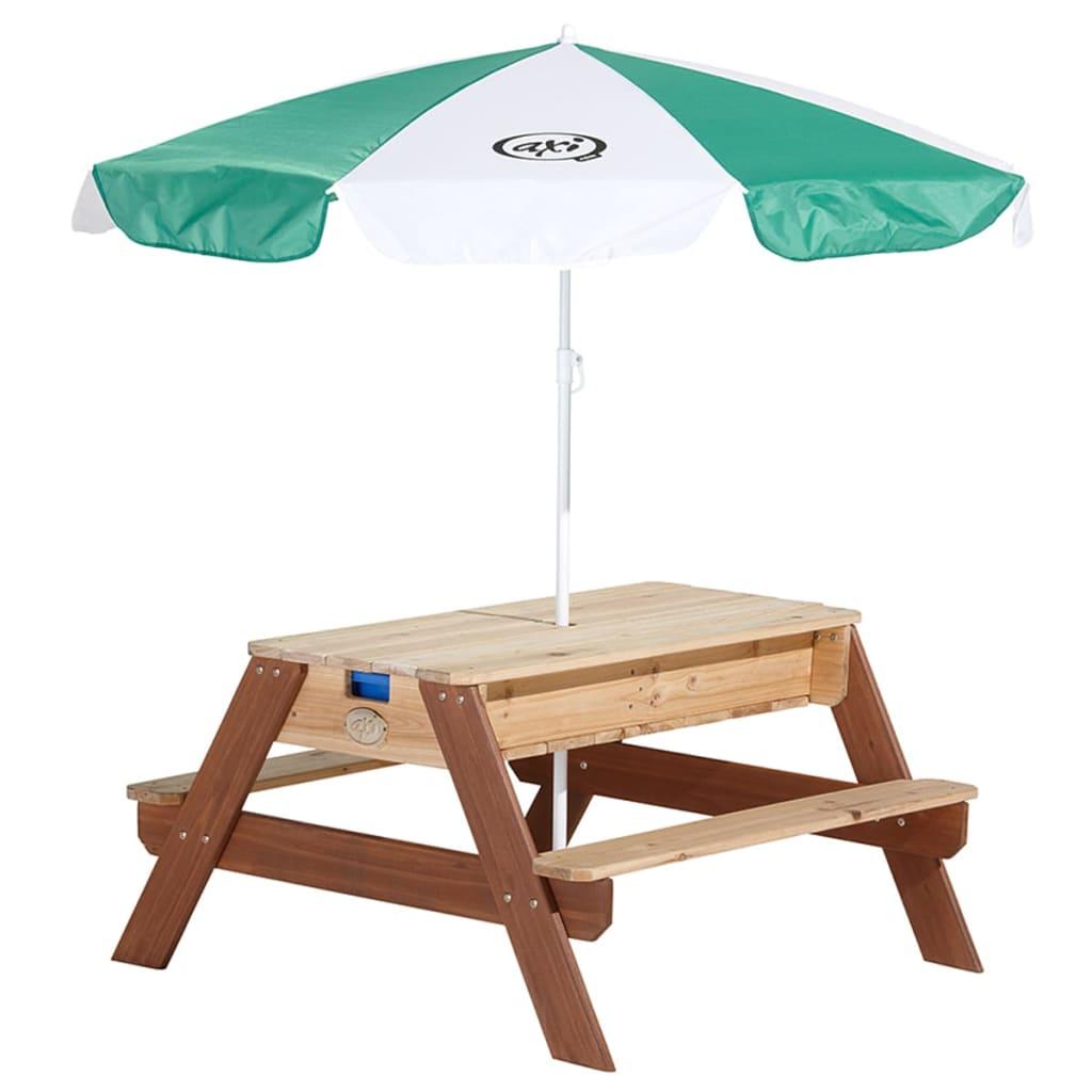 acheter table de pique nique de sable eau axi avec parasol pas cher. Black Bedroom Furniture Sets. Home Design Ideas