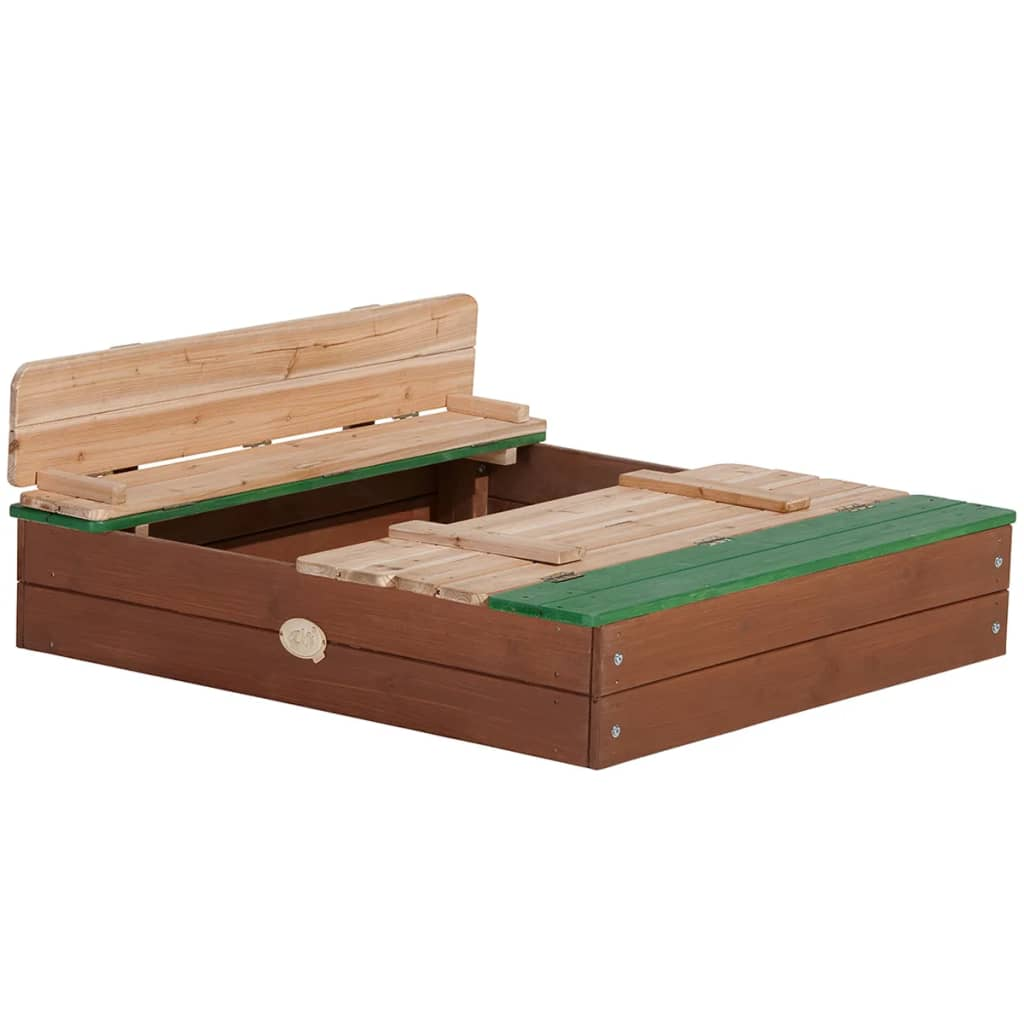 Axi sandbox ella with bench - Bac a sable bois refermable ...