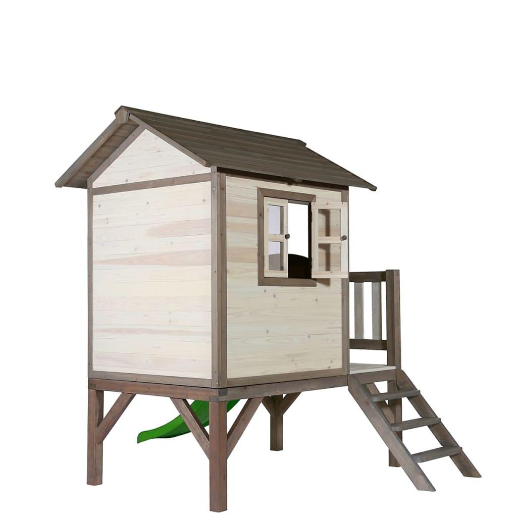 Sunny casetta giocare per bambini xl con scivolo for Grande casetta per bambini
