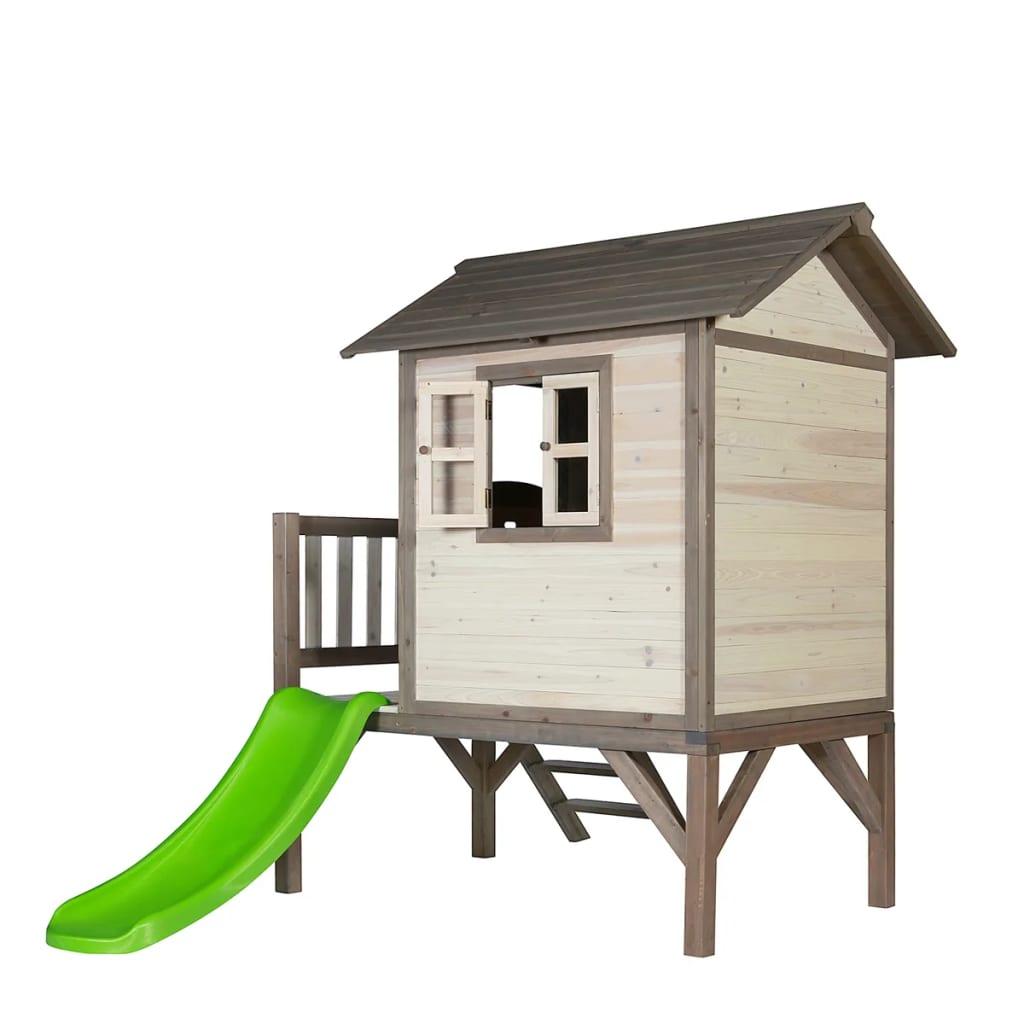 acheter maison de jeu pour enfant lodge xl avec toboggan. Black Bedroom Furniture Sets. Home Design Ideas