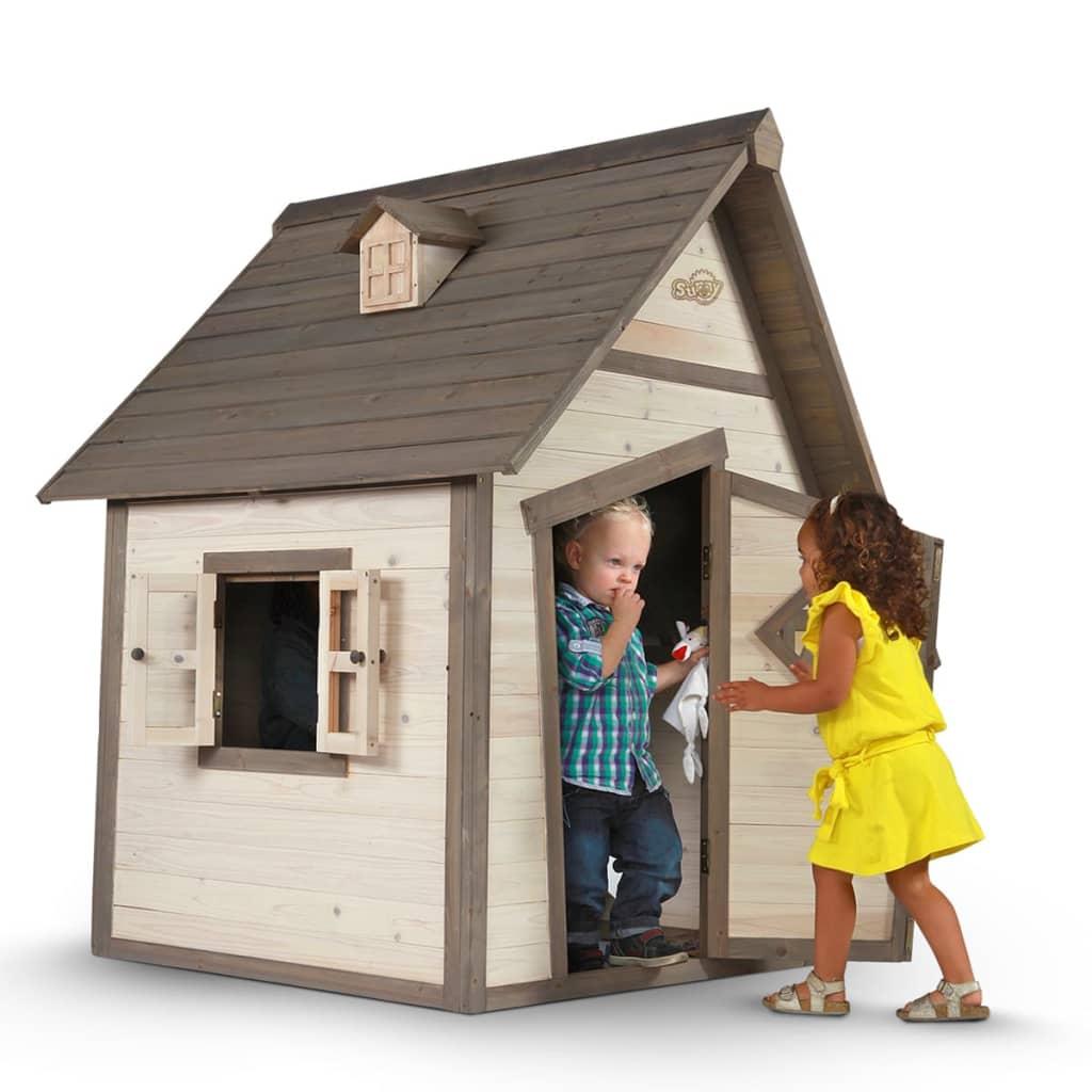 Sunny Casa Casetta per Bambini in Legno Gioco Da Esterno Giardino Per Bimbi