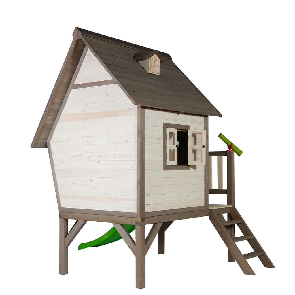 der sunny kinderspielhaus kinderholzhaus kinderhaus mit. Black Bedroom Furniture Sets. Home Design Ideas