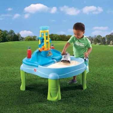 mesa de juego con agua y arena para nios step