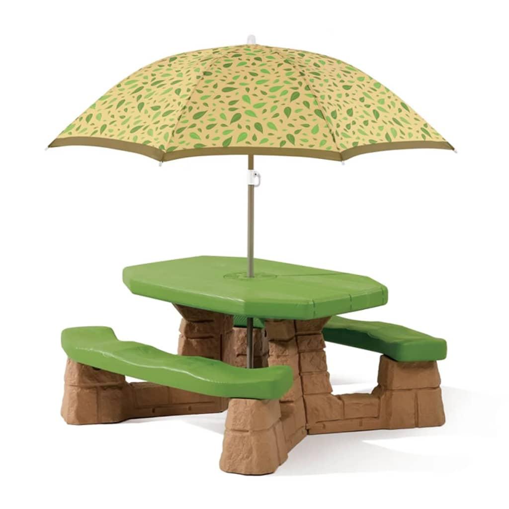 Step2 Piknik Asztal Esernyő