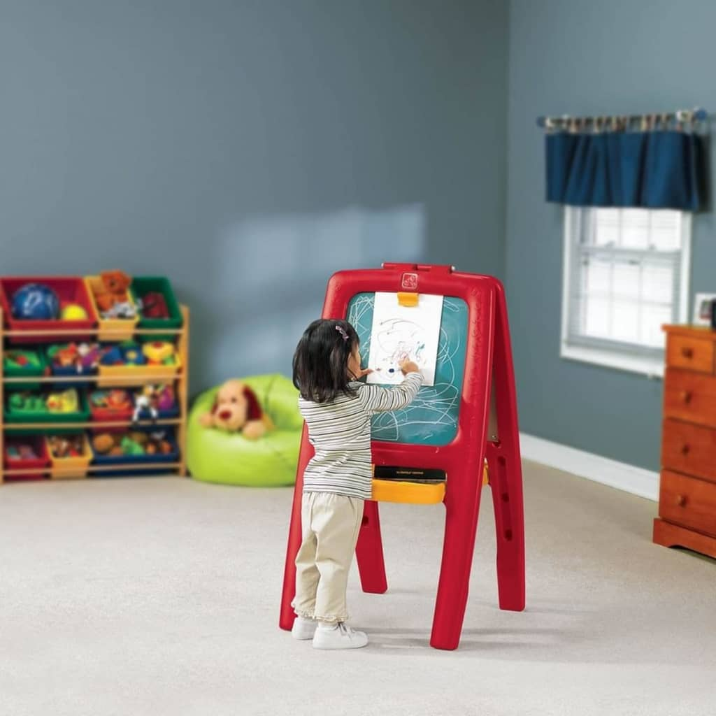 step2 easel for two kids with bonus magnetic letters With step 2 easel for two bonus magnetic letters numbers