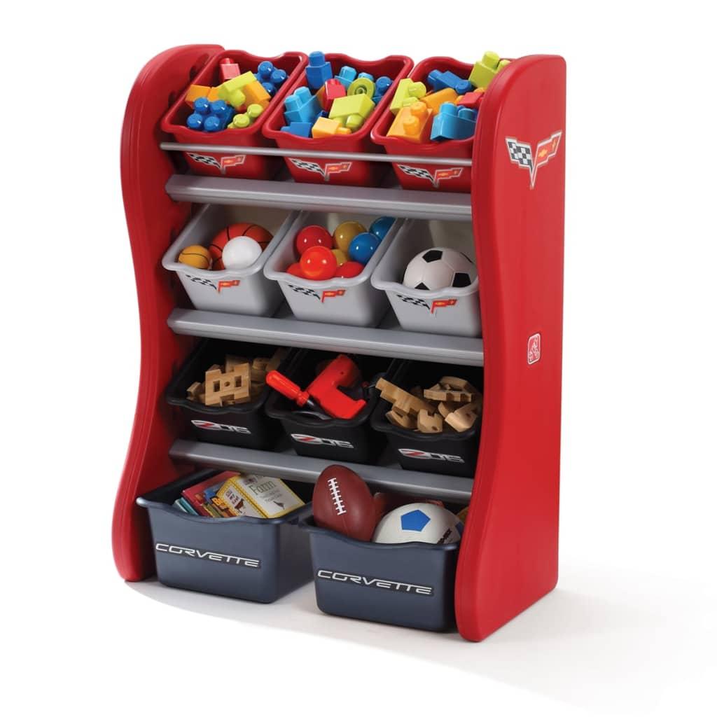 Mueble de almacenaje para ni os step2 corvette tienda - Mueble de almacenaje ...