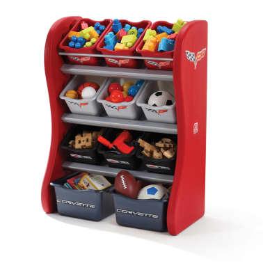 Mueble de almacenaje para ni os step2 corvette tienda - Muebles de almacenaje para ninos ...
