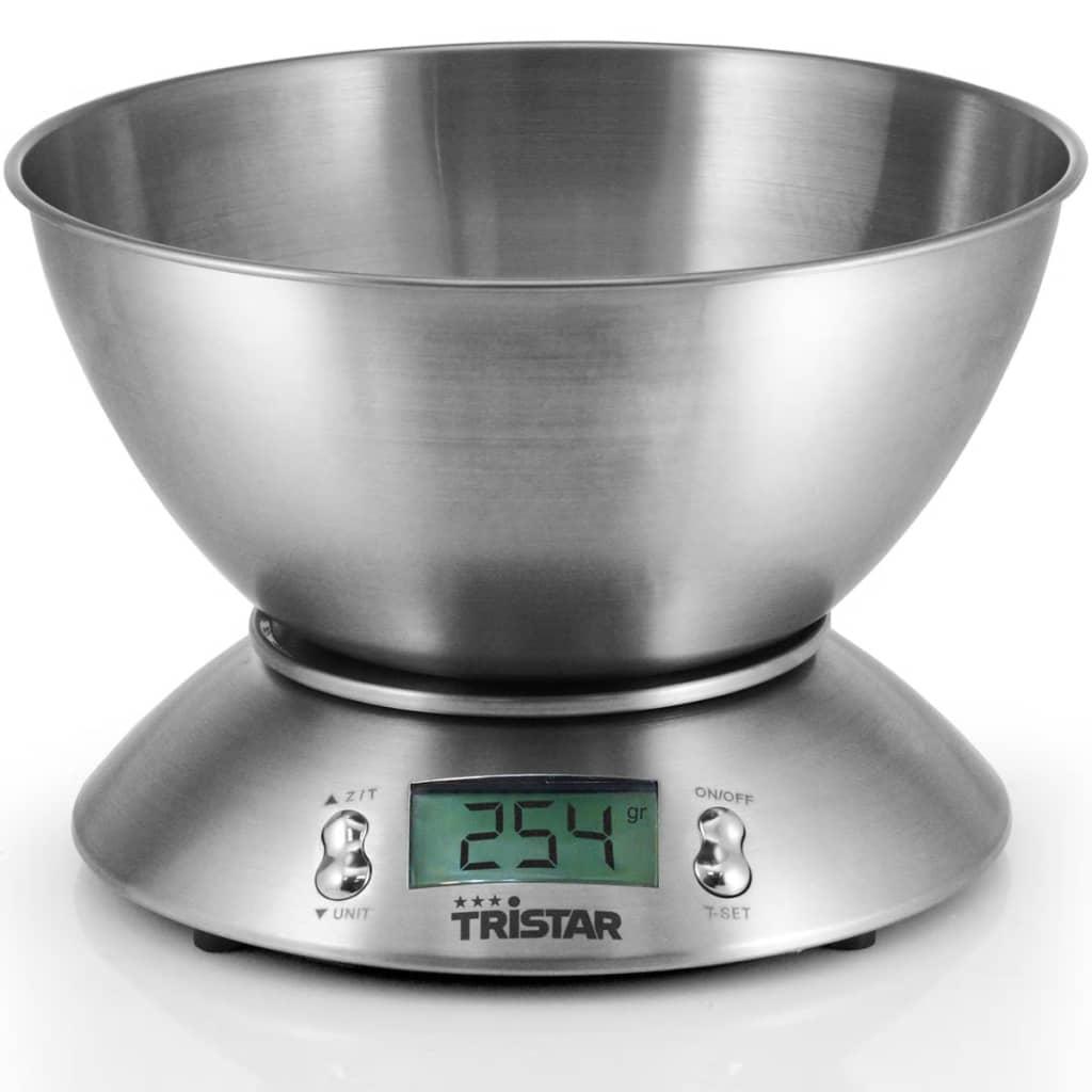 Balance de cuisine 5 kg avec bol de mesure tristar - Mesure cuisine sans balance ...