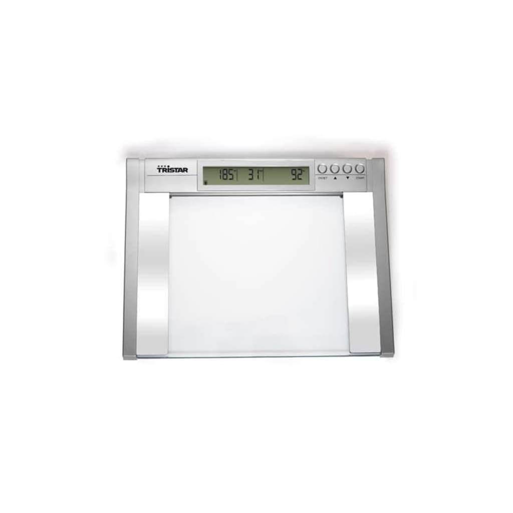 Balança Tristar de análise do corpo 200 kg www.vidaxl.pt #50574F 1024x1024 Balança De Banheiro 150 Kg