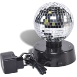 Party Fun Lights Rotating Mirror Ball