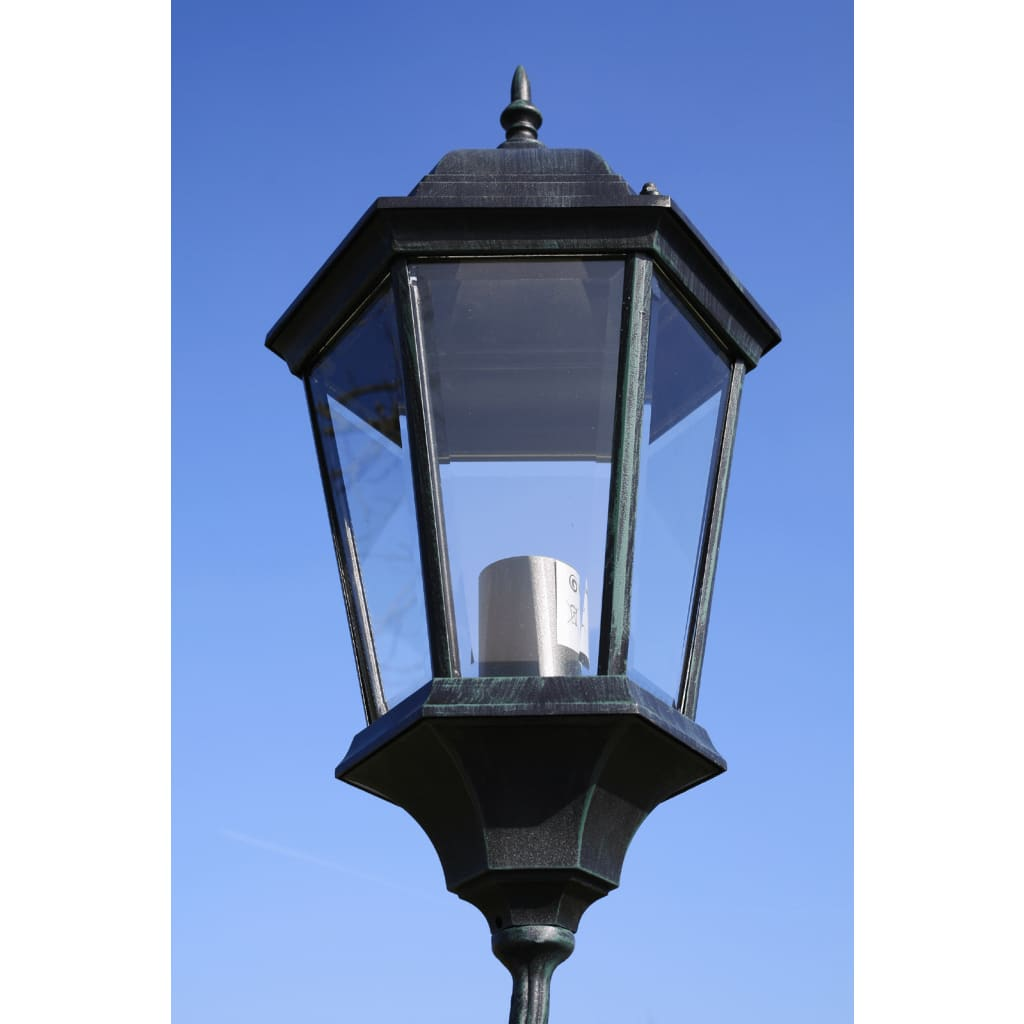 Brighton Garden Light Post 2-arms 230 Cm Dark Green/Black