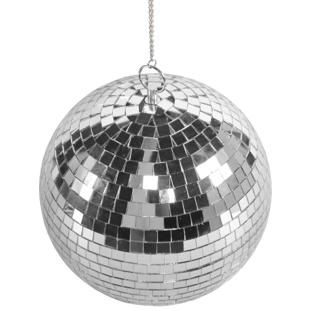 Party Fun Lights Rotating Mirror Ball With