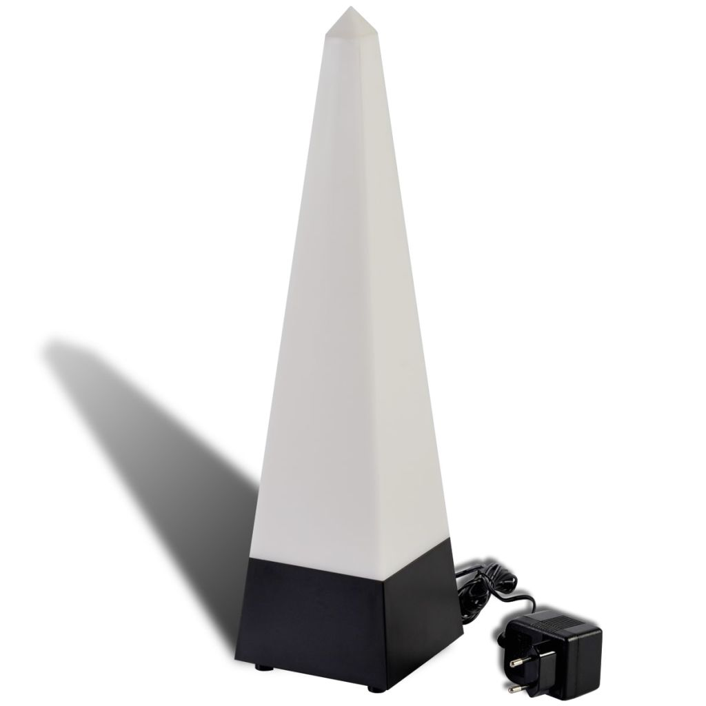 PYRAMID – COLOR CHANGING MOOD LAMP, 4,5Volt adapter