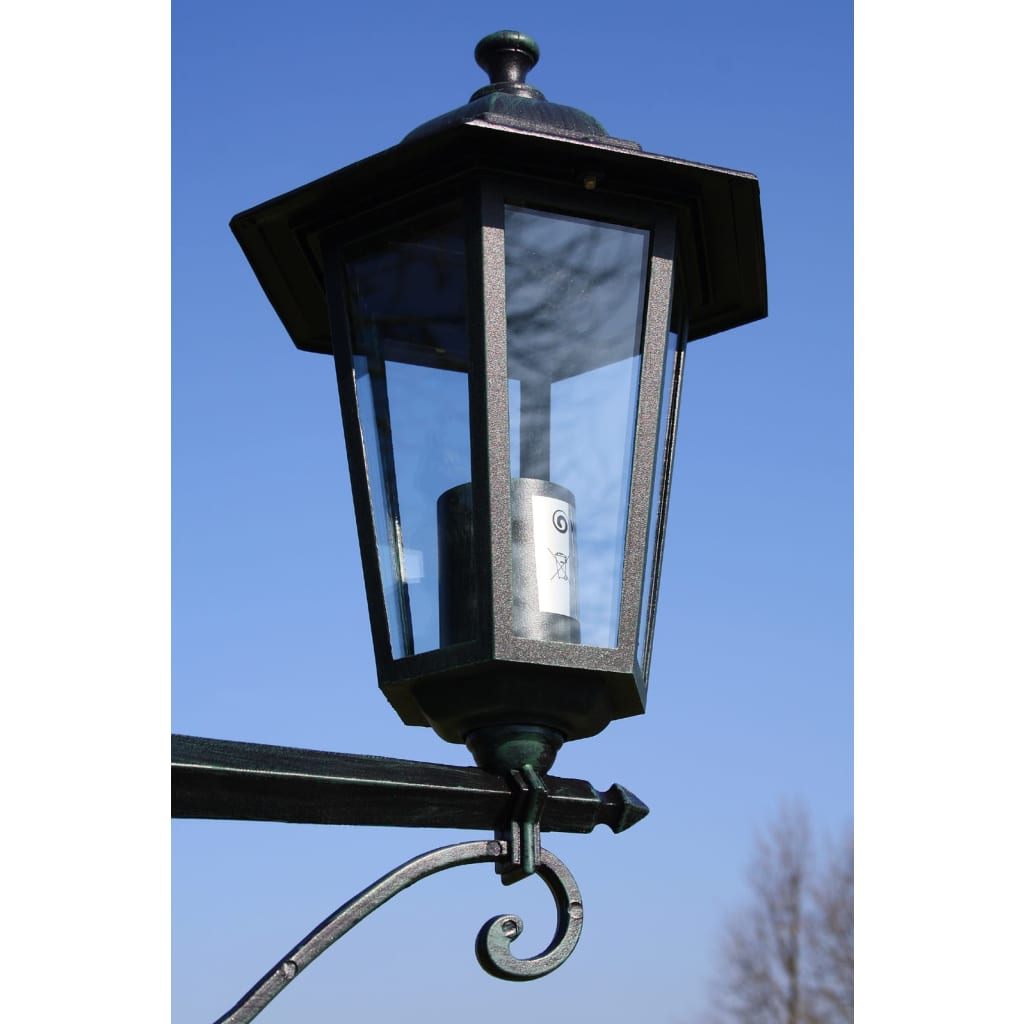 Preston garden light post height 215 cm for Lampadaire exterieur