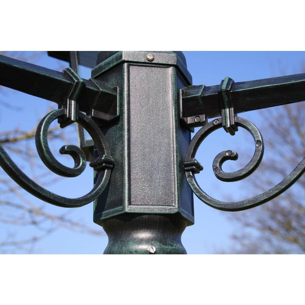 La boutique en ligne lampadaire ext rieur triple for Solde luminaire exterieur