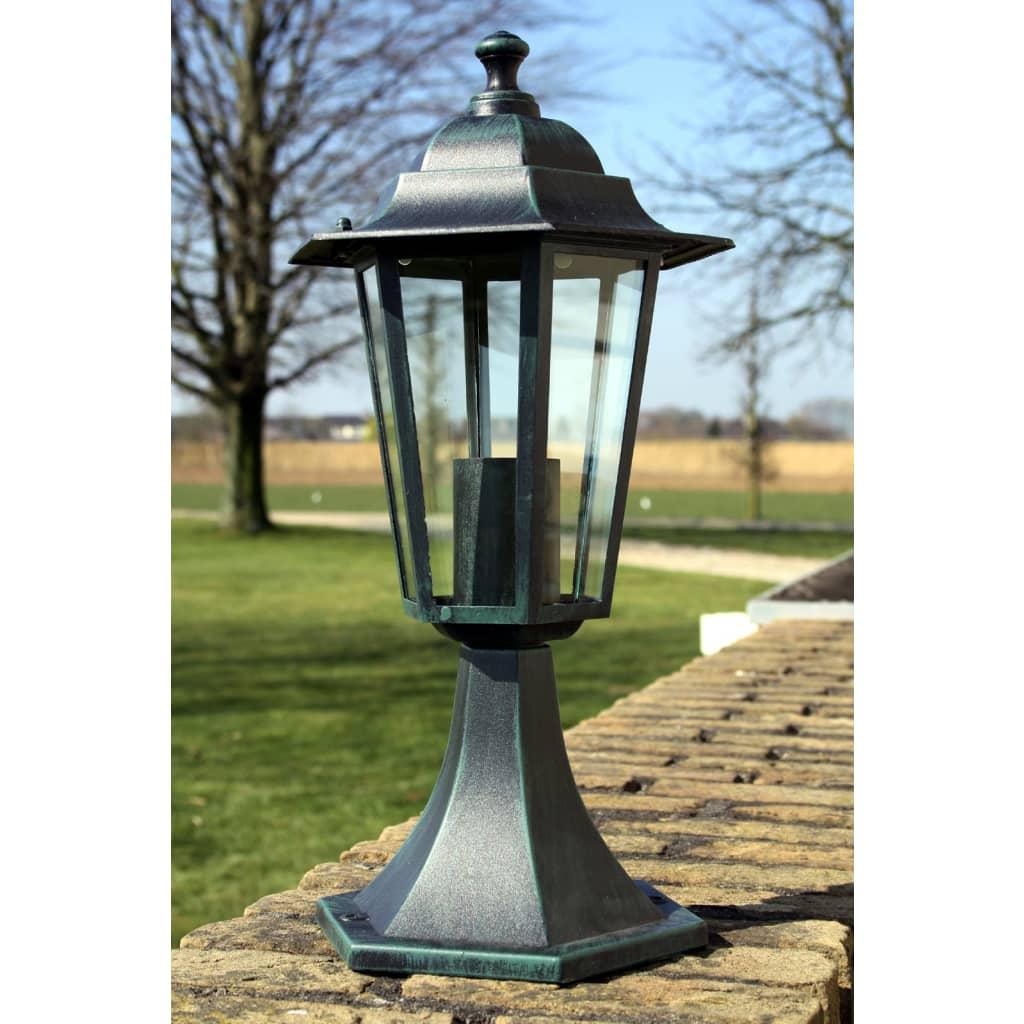 Lampioncino h 41 cm lampione da esterno luce per - Luce per giardino ...
