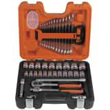 Bahco Steckschlüsselsatz 1/2'' und Schraubenschlüssel Set S400