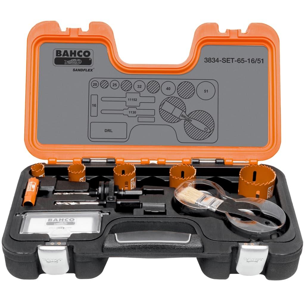 BAHCO Bahco professionellt hålsåg set 16-51 mm