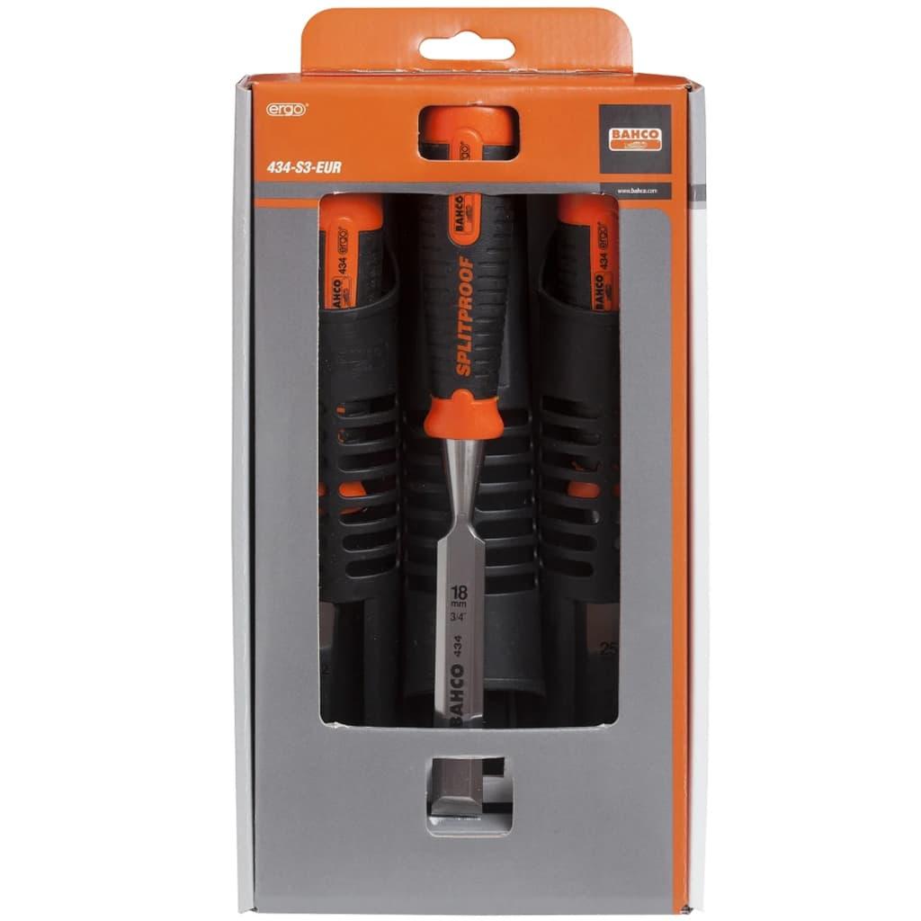 BAHCO Bahco ergonomiskt designade stämjärn 12-25 mm