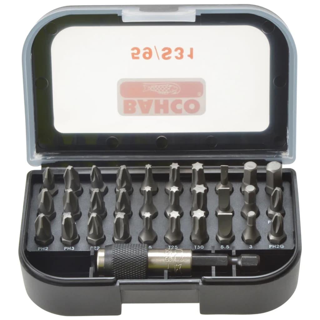 BAHCO Bahco 31-delars bitssats för slagskruvdragare