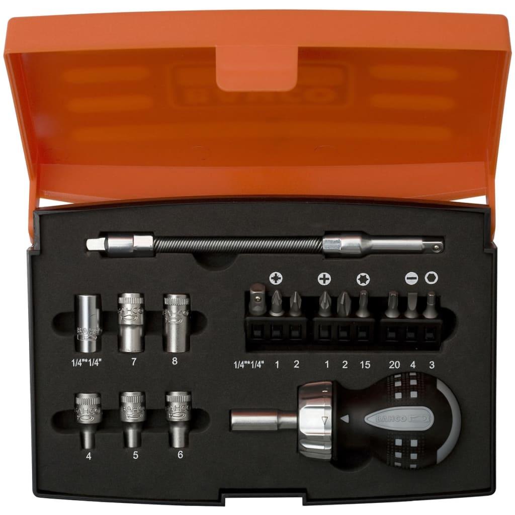 BAHCO 808050S-18 racsnis csavarhúzó készlet