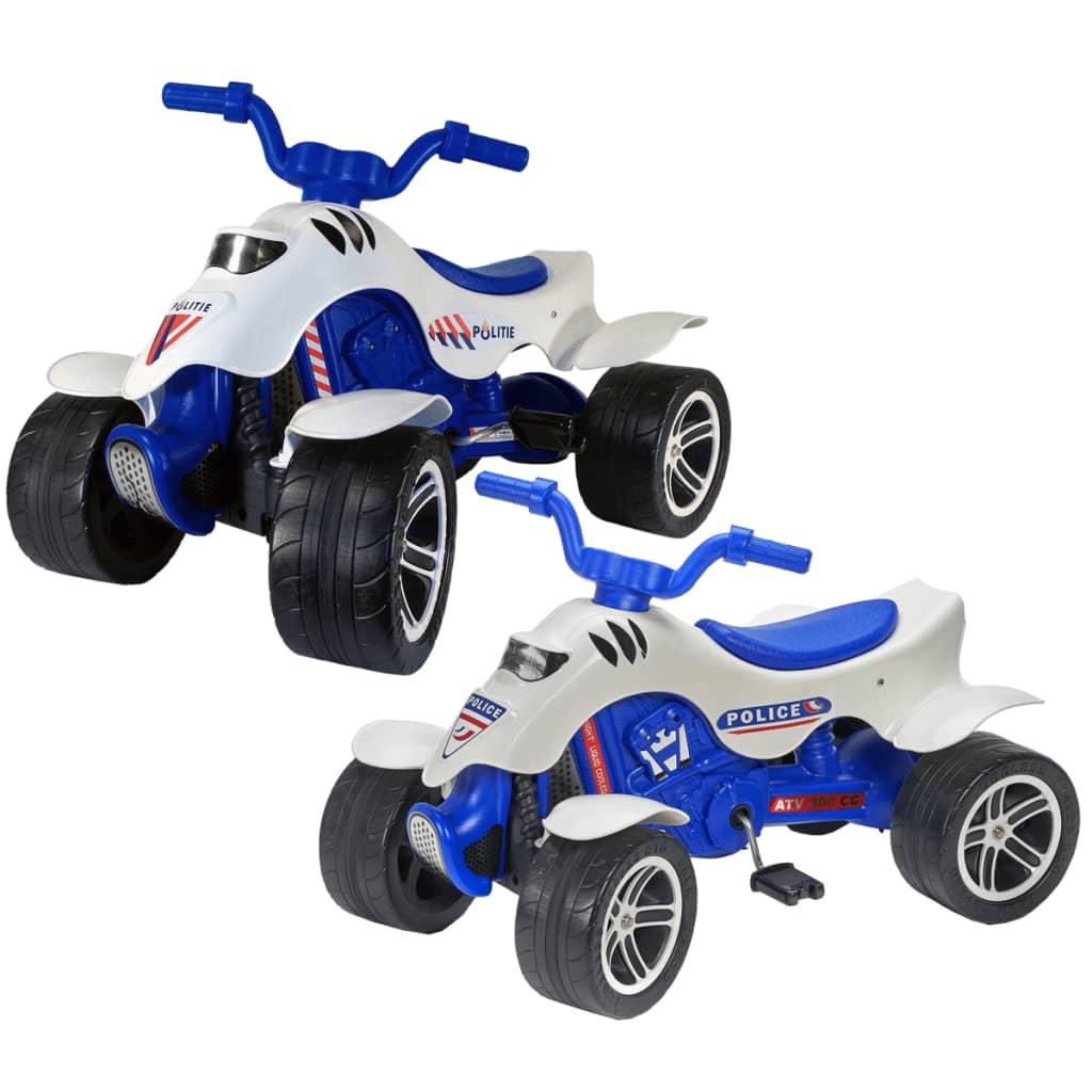 acheter moto quad de police bleu blanc falk 3 7 pas cher. Black Bedroom Furniture Sets. Home Design Ideas