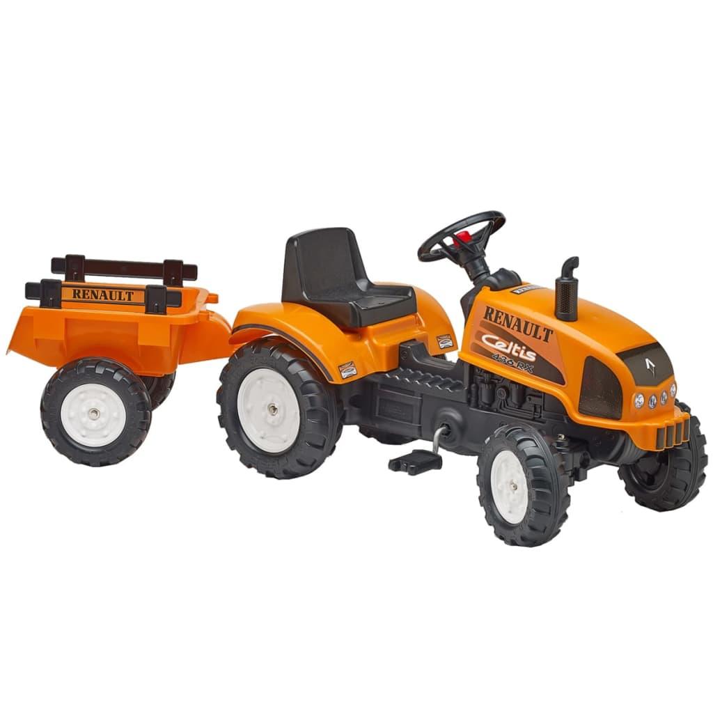 FALK Falk Renault Celtis 436Rx Traktor Utánfutóval Narancsszínű 2/5