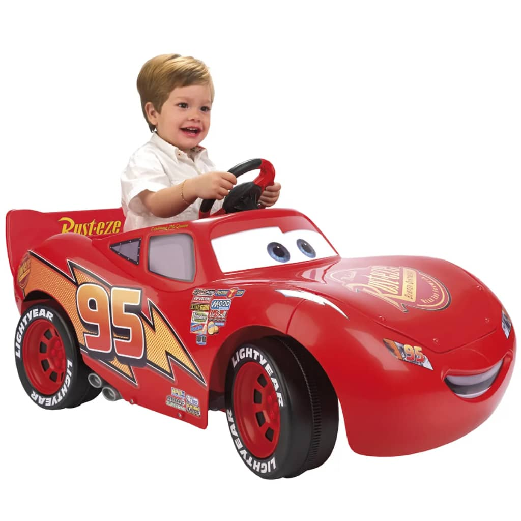 """Feber Cars II Lightning McQueen Ride-on Car 6 V"""