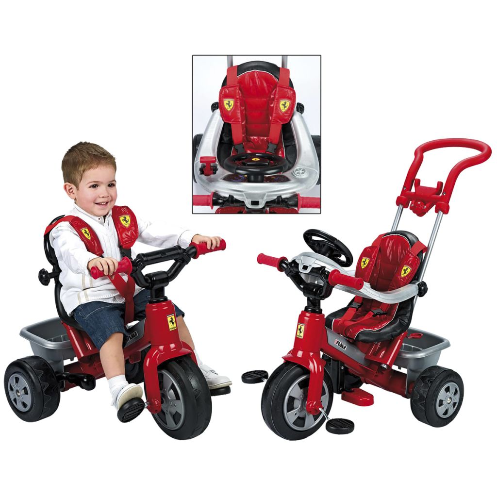 """Feber Ferrari Trike Tricycle"""