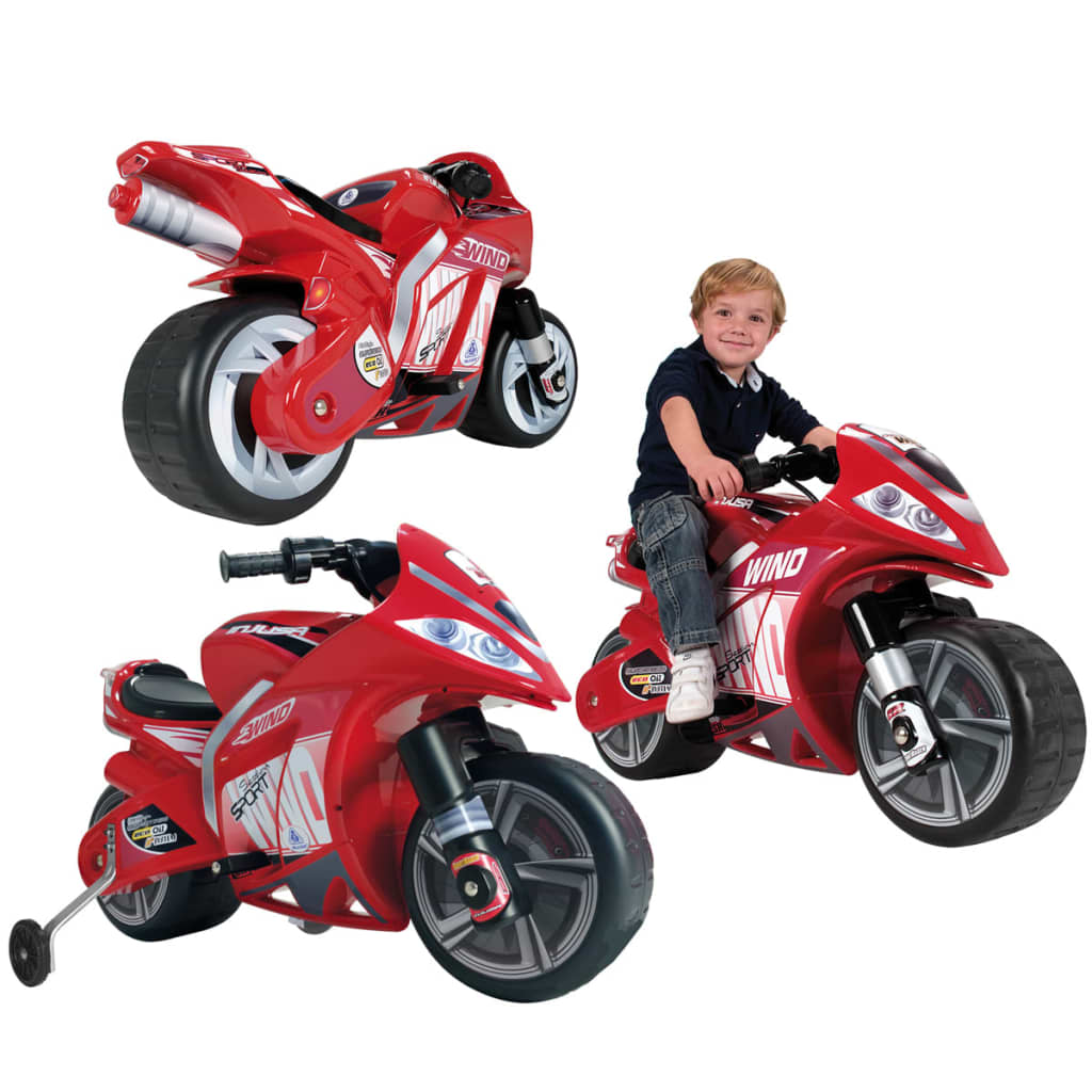 Moto A Pousser Jouet injusa 646 vélo et véhicule pour enfant moto wind 6v | ebay