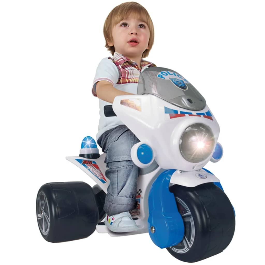 Injusa Injusa Triciclo Elettrico Polizia 6 V per bambini dai 1,5 anni Giallo
