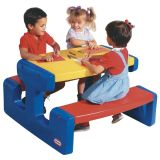 Grande table de pique-nique (primaire) Little Tikes