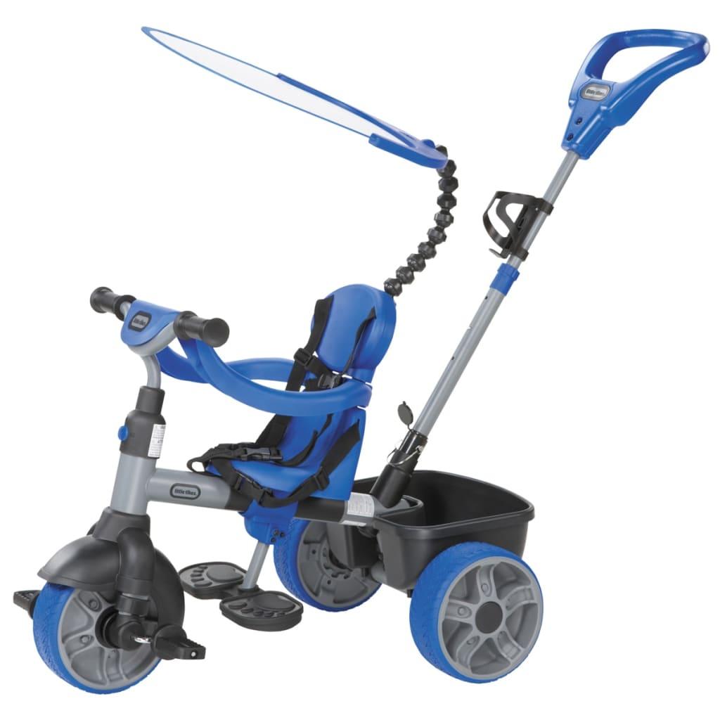 acheter tricycle 4 en 1 bleu little tikes pas cher. Black Bedroom Furniture Sets. Home Design Ideas