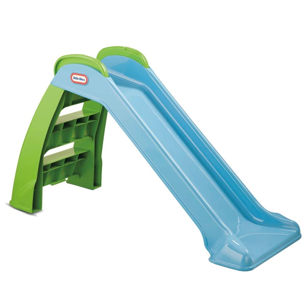 Little-Tikes-Toboggan-bleu-First-pour-enfants-garcons-filles-de-1-5-a-4-ans