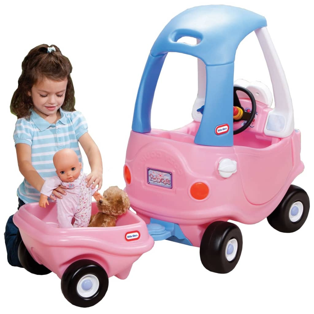 Little tikes cozy coupe trailer pink - Little tikes cozy coupe pink ...