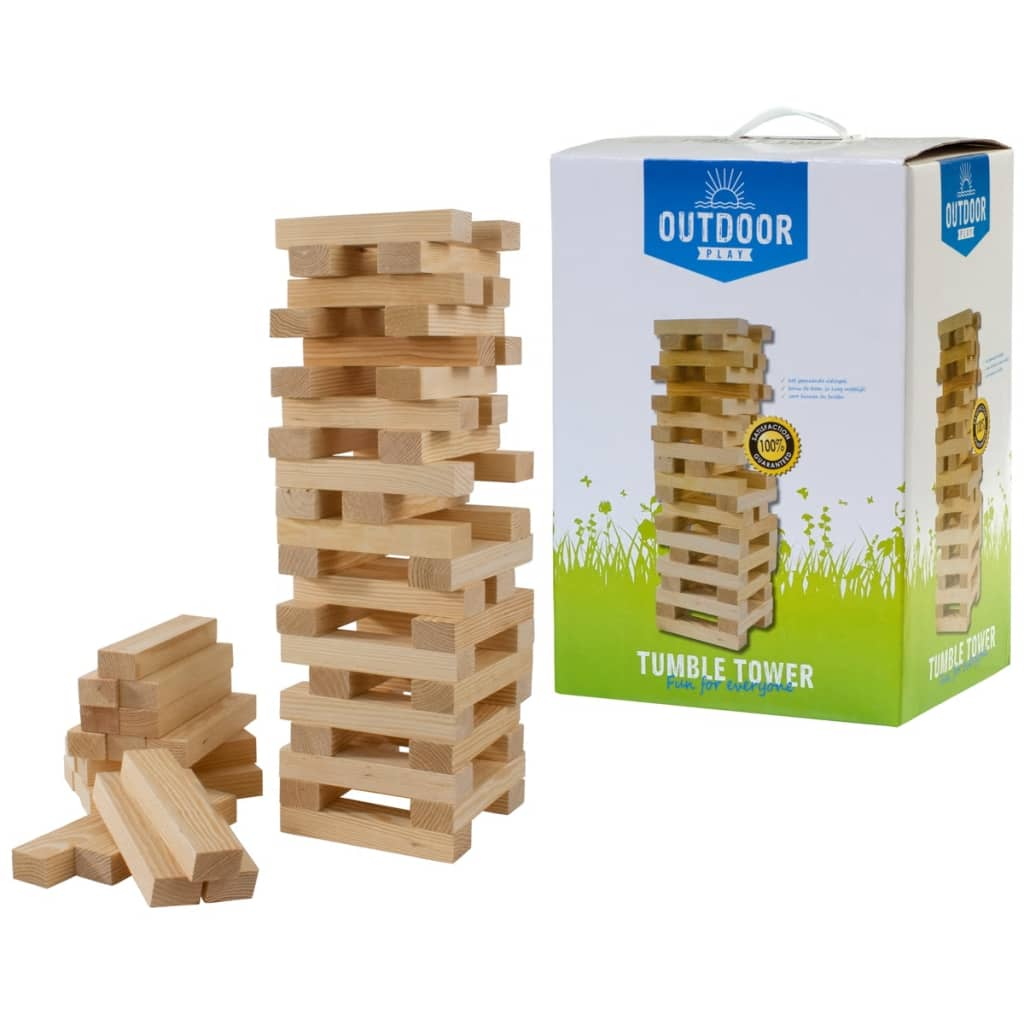 """OUTDOOR PLAY Tumble Tower Wood"""
