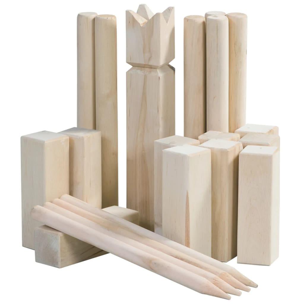 outdoor play kubb spiel wikinger schach wurfspiel g nstig kaufen. Black Bedroom Furniture Sets. Home Design Ideas