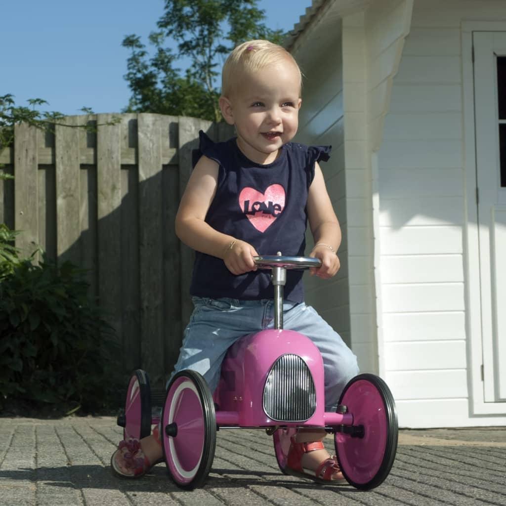Retro Roller Véhicule Véhicule Véhicule Voiture pour enfants en Fuchsia Marilyn LoopAuto 20kg aaec22