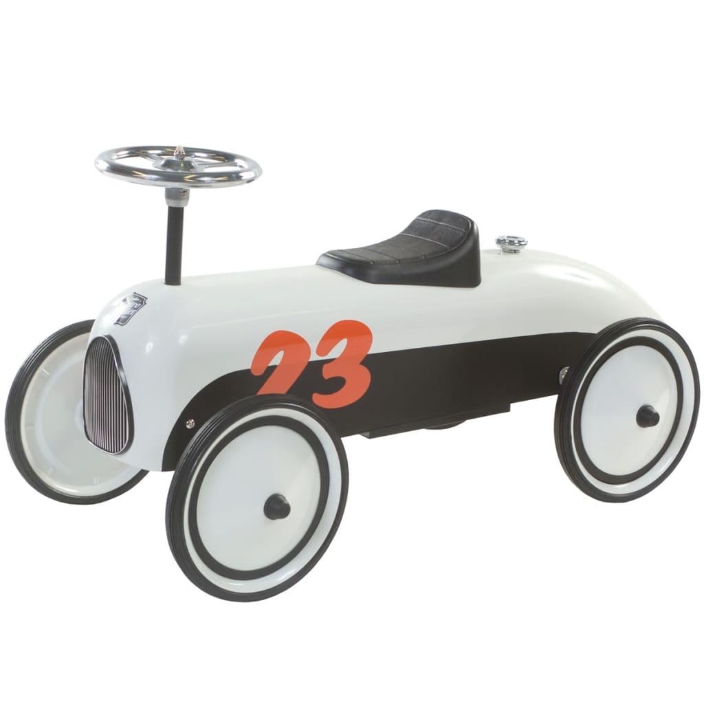 retro roller loopauto max kinderauto rutscher rennwagen. Black Bedroom Furniture Sets. Home Design Ideas