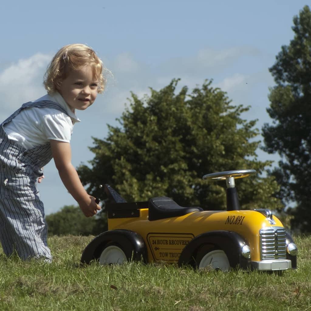 Retro Roller Véhicule Voiture pour enfants en Jaune Tommy Speedster 20 kg