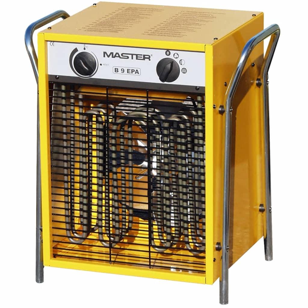 Master Elektromos Ventilátor Fűtés B9EPB 800 mł / óra