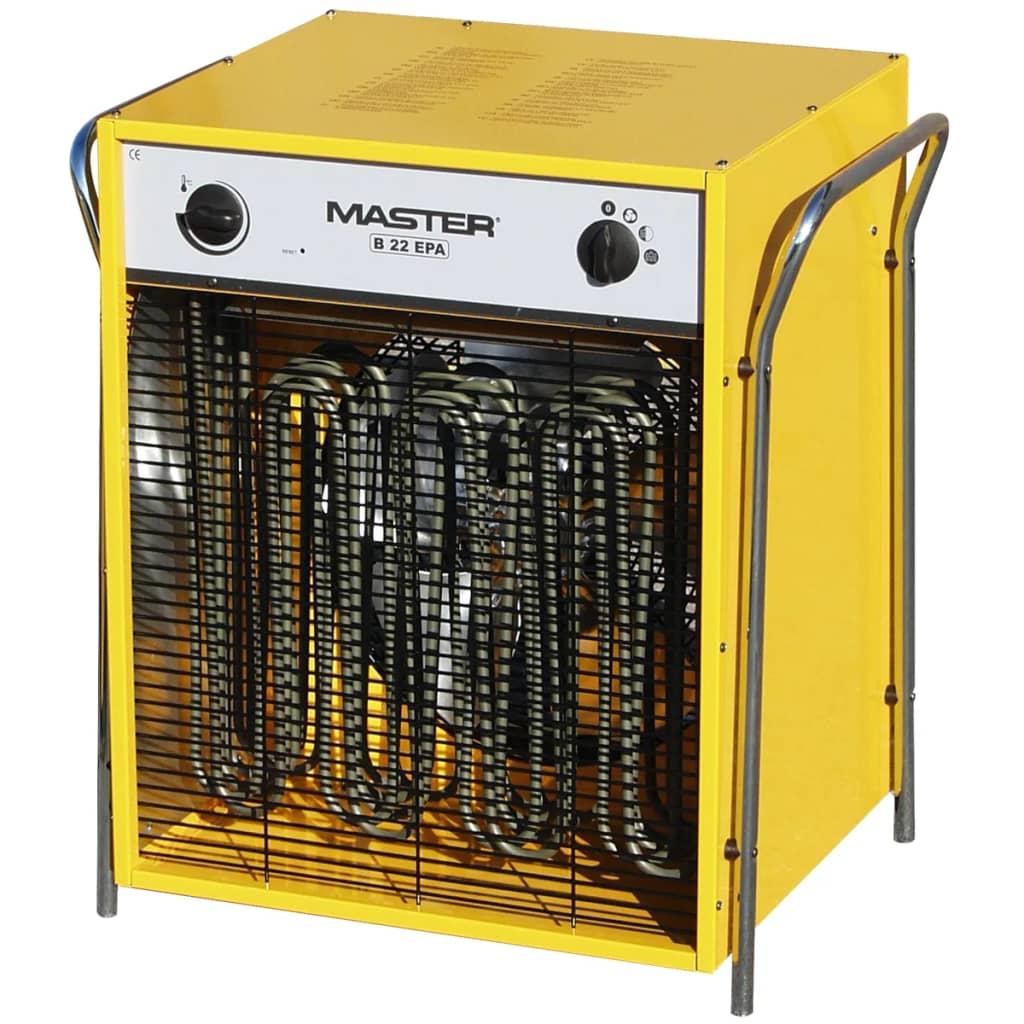 Afbeelding van Master Elektrische ventilator verwarming B22EPB 2400 m³/u