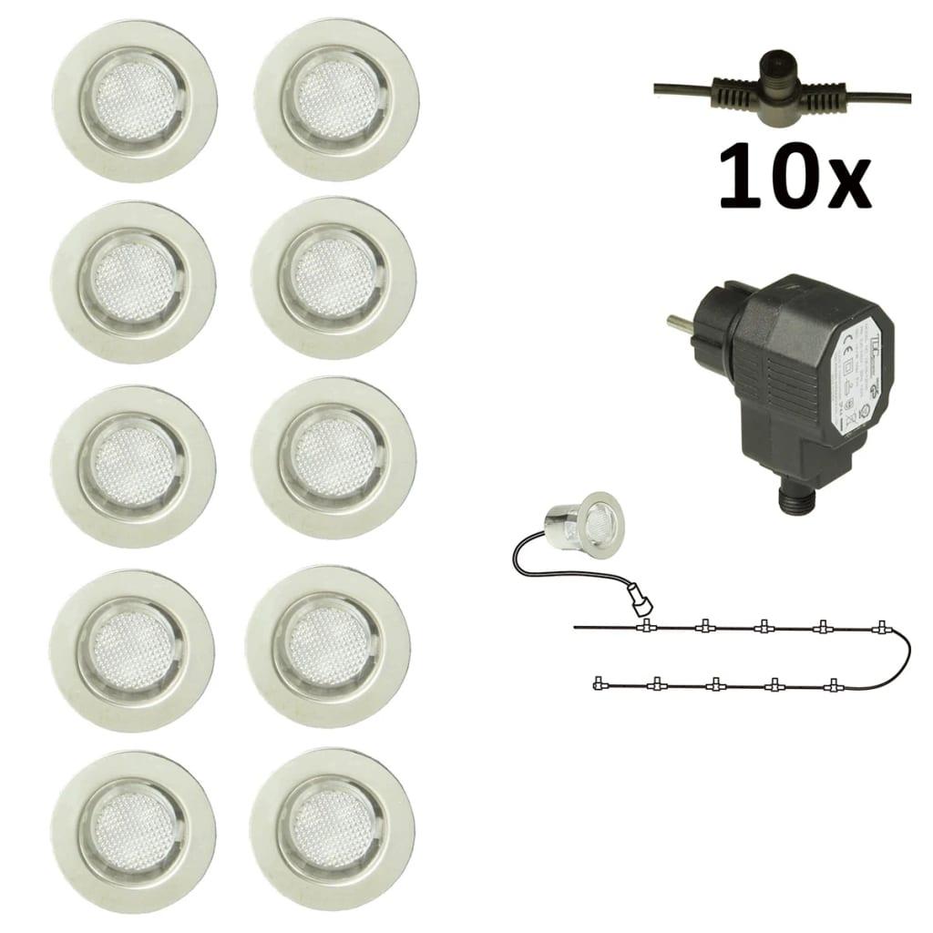 Luxform Calypso kültéri lámpa készlet (10 db) 12 V