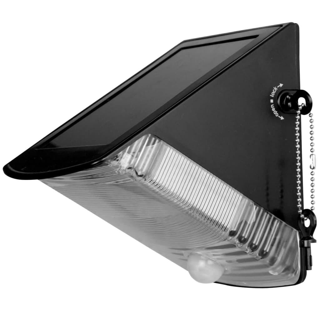 Aplique solar de exterior para el jard n luxbright natal - Aplique solar exterior ...
