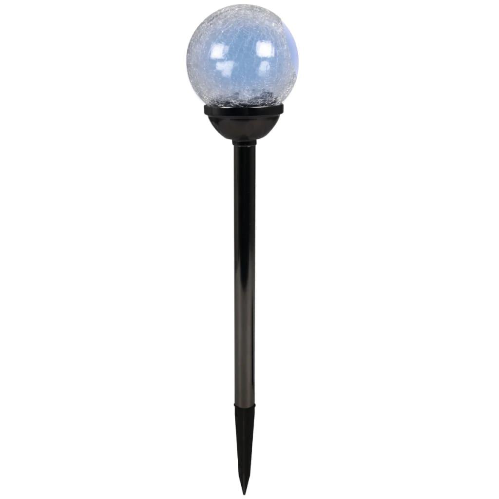 Luxform Palma Fekete Gyöngy napelemes kültéri lámpa 12 db